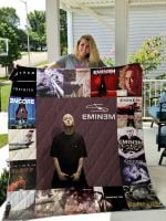 Theartsyhomes Eminem Style Two 3D Personalized Customized Quilt Blanket ESR23