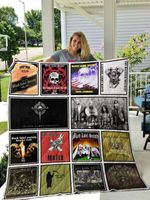 Theartsyhomes Black Label Society 3D Personalized Customized Quilt Blanket ESR26