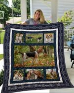 Theartsyhomes Beagle 5 3D Personalized Customized Quilt Blanket ESR36