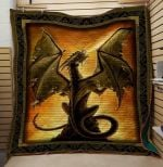 Theartsyhomes Dragon V8 3D Personalized Customized Quilt Blanket ESR36
