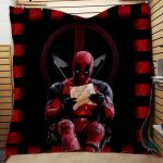 Theartsyhomes Deadpool #Tnov-11 3D Personalized Customized Quilt Blanket ESR17