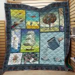 Theartsyhomes Book D1102 84o38 3D Personalized Customized Quilt Blanket ESR23