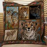 Theartsyhomes Cheetah V2 3D Personalized Customized Quilt Blanket ESR27