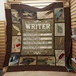 Theartsyhomes Book Writer Convention 3D Personalized Customized Quilt Blanket ESR35