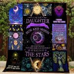 Theartsyhomes Daughter Of Sun And Moon 3D Personalized Customized Quilt Blanket ESR25