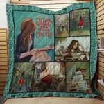 Theartsyhomes Book D1102 83o06 3D Personalized Customized Quilt Blanket ESR22