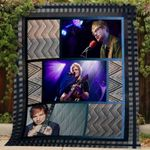 Theartsyhomes Ed Sheeran V7 3D Personalized Customized Quilt Blanket ESR20