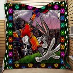 Theartsyhomes Bugs Bunny V10 3D Personalized Customized Quilt Blanket ESR9