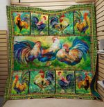 Theartsyhomes Chicken 3 3D Personalized Customized Quilt Blanket ESR5