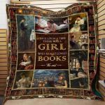 Theartsyhomes Book D1310 82o37 3D Personalized Customized Quilt Blanket ESR39