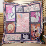 Theartsyhomes Elephant M1801 82o31 3D Personalized Customized Quilt Blanket ESR35
