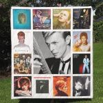 Theartsyhomes David Bowie 3D Personalized Customized Quilt Blanket ESR35