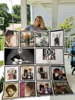 Theartsyhomes Bob Dylan 3D Personalized Customized Quilt Blanket ESR12