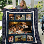 Theartsyhomes Beagle Qui25002 3D Personalized Customized Quilt Blanket ESR2