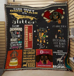 Theartsyhomes Dachshund coffee and naps kind of day 3D Personalized Customized Quilt Blanket ESR37