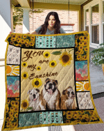 Theartsyhomes BULLDOG 3D Personalized Customized Quilt Blanket ESR21