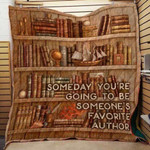 Theartsyhomes Book Favorite 3D Personalized Customized Quilt Blanket ESR4