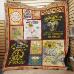 Theartsyhomes Elephant Hippie M1101 83o41 3D Personalized Customized Quilt Blanket ESR19