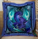 Theartsyhomes Dragon V6 3D Personalized Customized Quilt Blanket ESR34