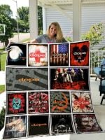 Theartsyhomes Dope 3D Personalized Customized Quilt Blanket ESR13