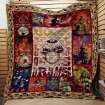 Theartsyhomes Drummer N2701 84o02 3D Personalized Customized Quilt Blanket ESR29