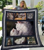 Theartsyhomes Cat 10 3D Personalized Customized Quilt Blanket ESR13