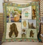 Theartsyhomes Bear: Be Good 3D Personalized Customized Quilt Blanket ESR32