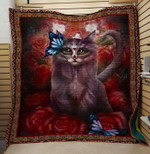 Theartsyhomes Butterfly catches butterfly 3D Personalized Customized Quilt Blanket ESR4