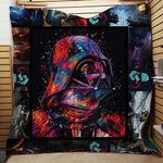 Theartsyhomes Darth Vader Art Star Wars Fabric 3D Personalized Customized Quilt Blanket ESR18
