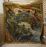Theartsyhomes Bear V7 3D Personalized Customized Quilt Blanket ESR31