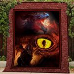 Theartsyhomes Dragons V1 3D Personalized Customized Quilt Blanket ESR27