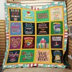 Theartsyhomes Book F1301 83o39 3D Personalized Customized Quilt Blanket ESR8