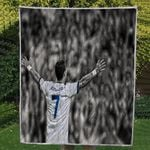 Theartsyhomes CR7 3D Personalized Customized Quilt Blanket ESR25
