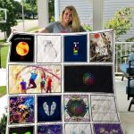 Theartsyhomes Coldplay 3D Personalized Customized Quilt Blanket ESR47