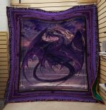 Theartsyhomes Dragon V12 3D Personalized Customized Quilt Blanket ESR19