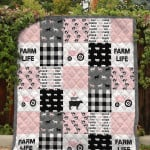 Theartsyhomes Farm Life Printing Dtn-Qhn00001 3D Personalized Customized Quilt Blanket ESR34