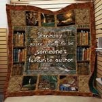 Theartsyhomes Book D1303 84o34 3D Personalized Customized Quilt Blanket ESR43