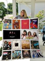 Theartsyhomes Bee Gees 3D Personalized Customized Quilt Blanket ESR27