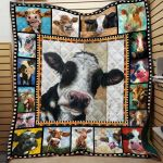 Theartsyhomes Dairy Cow Hqt-Qhg00007 3D Personalized Customized Quilt Blanket ESR41