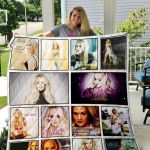 Theartsyhomes Carrie Underwood 3D Personalized Customized Quilt Blanket ESR5