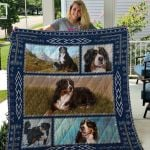 Theartsyhomes Bernese Mountain Dog Qui16004 3D Personalized Customized Quilt Blanket ESR23