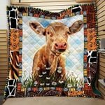 Theartsyhomes Cow Printing Tdq-Qhg0005 3D Personalized Customized Quilt Blanket ESR33