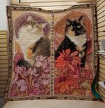 Theartsyhomes Farewell to the cat 3D Personalized Customized Quilt Blanket ESR28