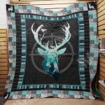 Theartsyhomes Deer Hunting M2201 87o34 3D Personalized Customized Quilt Blanket ESR23