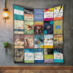 Theartsyhomes C. S. Lewis Books 3D Personalized Customized Quilt Blanket ESR28