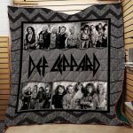 Theartsyhomes Def Leppard #Bjan-3 3D Personalized Customized Quilt Blanket ESR49