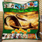 Theartsyhomes Dragon Ball Goku Shenron P166b 3D Personalized Customized Quilt Blanket ESR41