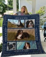Theartsyhomes Bernese Mountain Dog 6 3D Personalized Customized Quilt Blanket ESR7