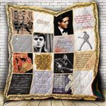 Theartsyhomes Elvis Presley Lyrics P312b 3D Personalized Customized Quilt Blanket ESR35