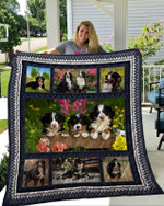 Theartsyhomes Bernese Mountain Dog 9 3D Personalized Customized Quilt Blanket ESR10